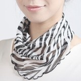 Silk Neck Cover Animal Silk