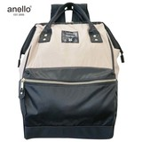 anello High Density Nylon Gold Metal Fittings Base Handle Backpack