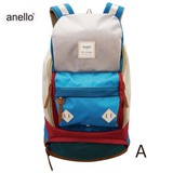 anello Polyester Canvas Retro Backpack