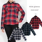 A/W Dyeing Checkered Shirt