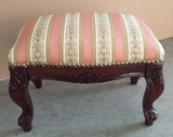 Italy Furniture Foot Stool Ottoman Stool