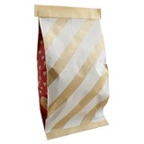Snack Bag Stripe Present Gift Wrapping Package Bag