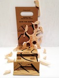 Message tree bird puzzle & mobile kit