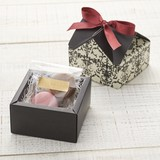 House Box Arabesque Ribbon SEAL Wrapping Paper Box