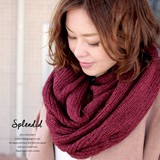 6 Colors Watermark Knitted Snood Ladies Miscellaneous goods Scarf Stole