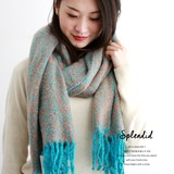 6 Colors Mix Color Knitted Stole Ladies Miscellaneous goods Scarf Stole