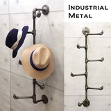 Industrial Metal Wall Multi Holder