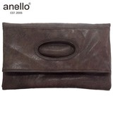 anello Synthetic Leather Clutch Tote