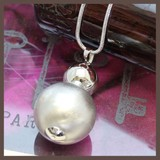 Elase Ball Long Necklace