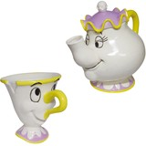 Disney Beauty And The Beast Tea Set Plates & Utensil