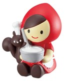 Mascot Single Little Red Riding-Hood Little Red Riding-Hood