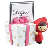 Card Stand Present Little Red Riding-Hood