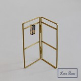 Point Reduction Brass Pierced Earring Stand