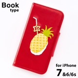 <iPhoneケース>Fruits in Juice for iPhone GPB7-04 Pineapple