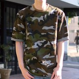 2017 S/S Revo. Fleece Camouflage Silhouette Half Length Sweat