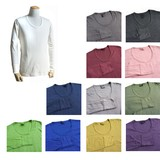 Germany Type U-neck Long Sleeve T-shirt 12 Colors