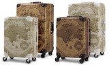 Map Trunk Hard Carry Case