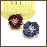 Color Flower Stretch Ring Ring