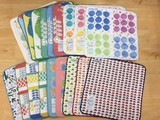 Assort Towel Handkerchief 20 Pcs