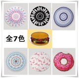 Round Beach Towel Mat