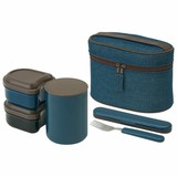 Heat Retention Attached Lunch Box Modern Attention