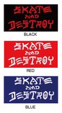 ステッカーNo,1239 THRASHER SKATE AND DESTROY BIG
