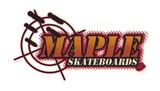 ステッカーNo,1240 MAPLE SKATEBOARDS
