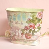 Rose Dust Box Magazine Rack