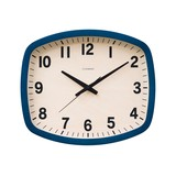 Wall Hanging Product Clock/Watch SQUARE Navy