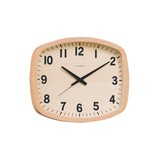 Wall Hanging Product Clock/Watch SQUARE Natural