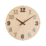 Wall Hanging Product Clock/Watch Brown