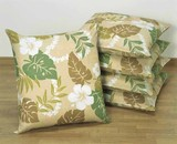 Floor Cushion Cover Hawaiian Leaf 5 Pcs