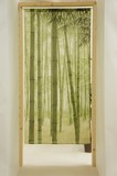 Japanese Noren Curtain Japanese Style Bamboo Forest