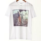 Photo Ink Print Short Sleeve T-shirt