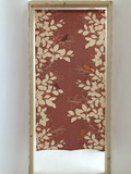 Japanese Noren Curtain Long Modern Bird Leaf