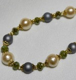 Cotton Pearl Necklace Design Necklace