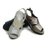 Summer Animal Push Combi Genuine Leather Sandal