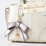 Artificial Leather 5 Colors Ribbon Bag Charm Ladies Accessory
