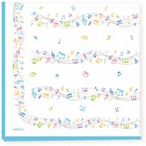 Paper Napkin Music Musical Note