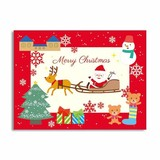 Clear Photo Card Santa Claus