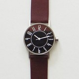 eki watch black /band:brown/ Igarashi Takenobu