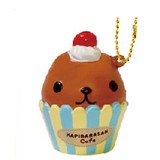 Special Deals!【SQUISHY】Kapibarasan Cup cake/Ball Chain Mascot [Offer valid while supplies last]
