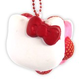 Special Deals!【SQUISHY】Hello Kitty Macaron/Ball Chain Mascot [Offer valid while supplies last]