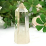 Natural stone Citrine Point Fan Hexagon Ornament FOREST
