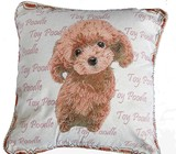 High Density Jacquard Cat Cushion Cover