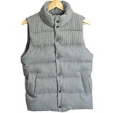 2017 A/W Knitted Panel Padding Vest