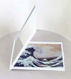 Palm Make-Up Mirror Hokusai Thirty-six Views of Mount Fuji Kanagawa