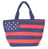 Stars And Stripes Felt Tote