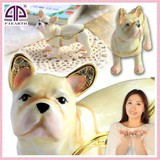 Jewelry Jewelry Box French Bulldog Dog Cream