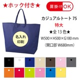 Casual Tote Large With Hock Non-woven Cloth Tote Bag